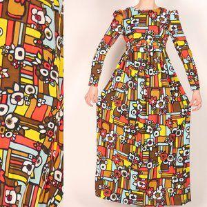 Handmade 60's Empire Waist Dress